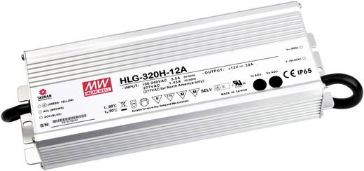 LED-Treiber, LED-Trafo Konstantspannung, Konstantstrom Mean Well HLG-320H-12A 264 W (max) 22 A 6 - 12 V/DC Überlastschut