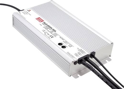 LED-Treiber, LED-Trafo Konstantspannung, Konstantstrom Mean Well HLG-600H-12A 480 W 40 A 6 - 12 V/DC dimmbar, PFC-Schalt