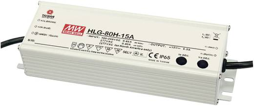 LED-Treiber, LED-Trafo Konstantspannung, Konstantstrom Mean Well HLG-80H-12B 60 W 5 A 7.2 - 12 V/DC dimmbar, PFC-Schaltk
