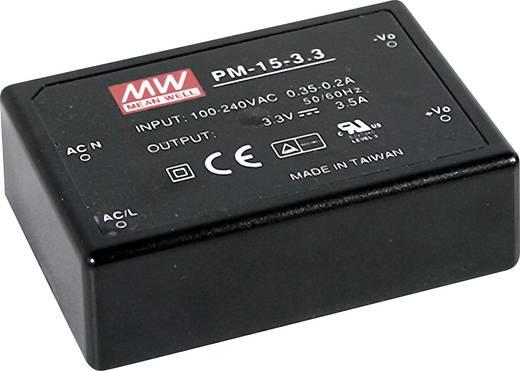 AC/DC-Printnetzteil Mean Well PM-15-5 5 V/DC 3 A 15 W
