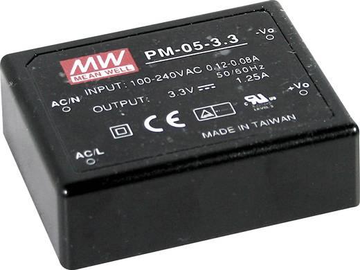 AC/DC-Printnetzteil Mean Well PM-05-24 24 V/DC 0.23 A 5 W