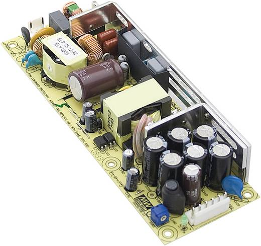 AC/DC-Netzteilbaustein, open frame Mean Well ELP-75-12 5 V/DC 15 A