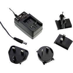 Zásuvkový adaptér so stálym napätím Mean Well GE30I12-P1J, 30 W, 2500 mA