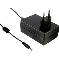 Zásuvkový adaptér so stálym napätím Mean Well GSM36E48-P1J, 36 W, 750 mA