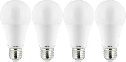 Renkforce LED E27 7,5W=50W WW Glühlampenfrom, 4er-Pack