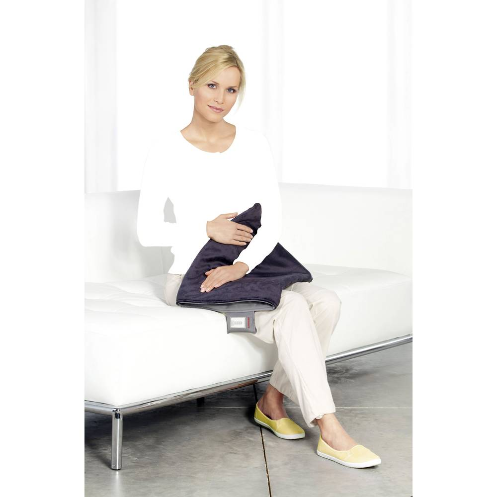 heizkissen soehnle akku w rmekissen grau im conrad online shop 68050. Black Bedroom Furniture Sets. Home Design Ideas