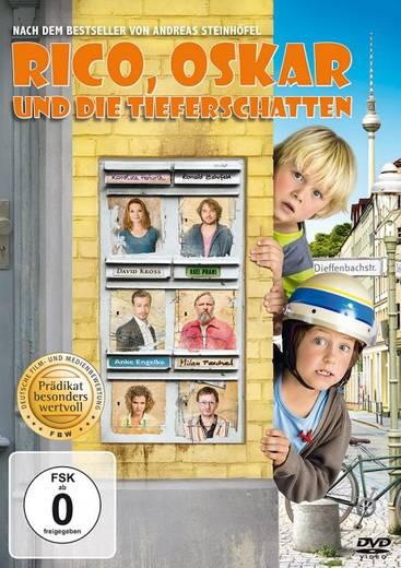 DVD Rico, Oskar und die Tieferschatten FSK: 0