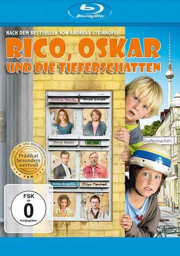 blu-ray Rico, Oskar und die Tieferschatten FSK: 0