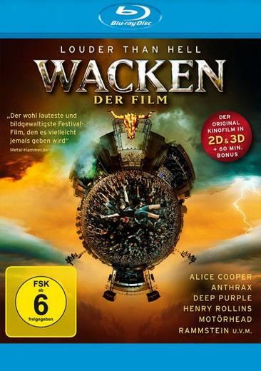 blu-ray 3D Wacken Der Film FSK: 6