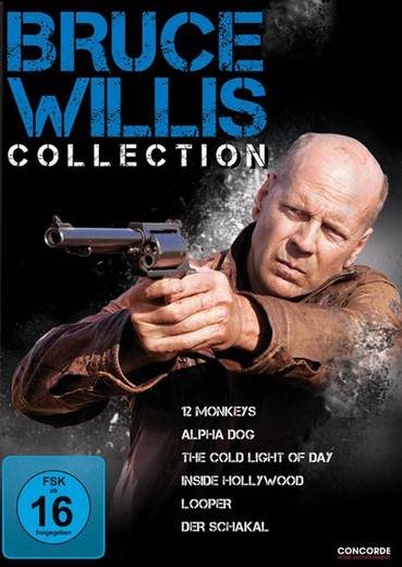 DVD Bruce Willis Collection FSK: 16