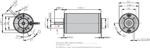 Gleichstrommotor EBM Papst BCI 52.30 24 V 2.2 A 0.1 Nm 3550 U/min Wellen-Durchmesser: 6 mm