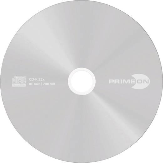 CD-R 80 Rohling 700 MB Primeon 2761102 50 St. Spindel Silber Matte Oberfläche
