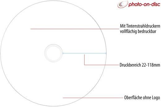 CD-R 80 Rohling 700 MB Primeon 2761105 50 St. Spindel Bedruckbar