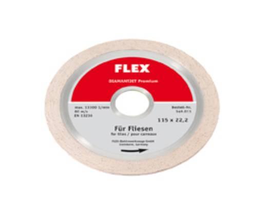 Diamantjet - Diamanttrennscheibe Premium Fliese Flex 349011 Durchmesser 115 mm 1 St.