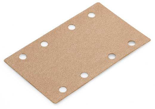 Schwingschleifpapier Körnung 100 (L x B) 133 mm x 80 mm Flex 380784 50 St.