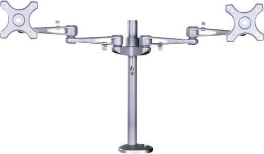 """2fach Monitor-Tischhalterung 25,4 cm (10"""") - 68,6 cm (27"""") Neigbar+Schwenkbar, Rotierbar NewStar Products FPMA-D935DG"""