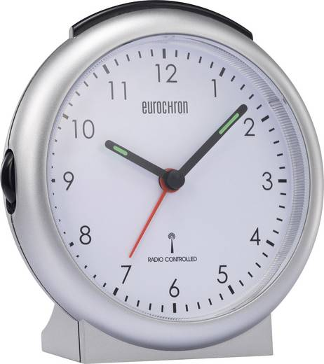 Funk Wecker Eurochron EFW 1750 Grau Alarmzeiten 1