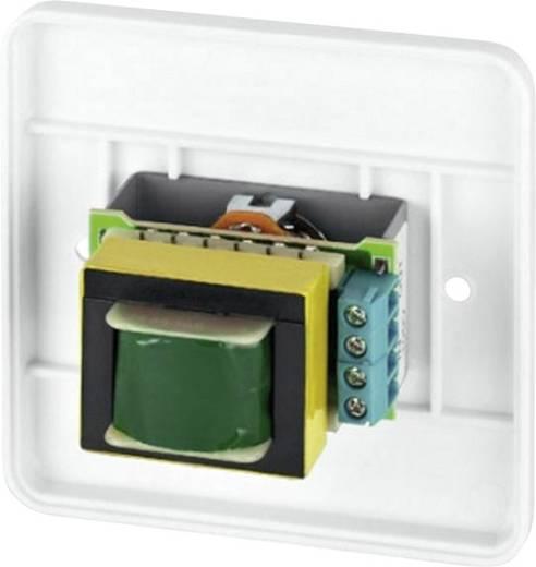 Monacor ATT-224/WS ELA-Einbau-Lautstärkesteller 85 mm
