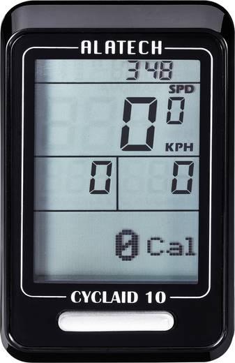 Fahrradcomputer, kabellos Alatech Cyclaid 10 Bluetooth