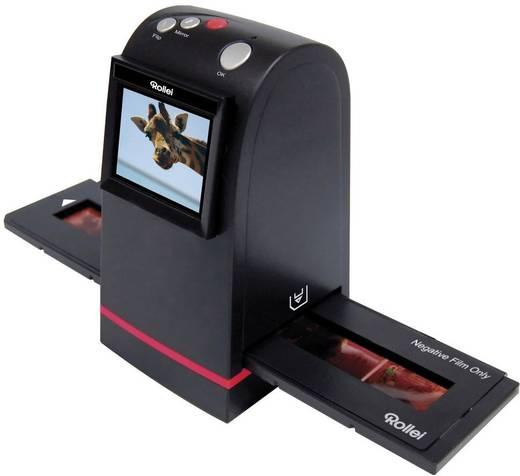 Rollei DF-S 100 SE Diascanner, Negativscanner 1800 dpi Display, Speicherkarten-Steckplatz, TV-Ausgang