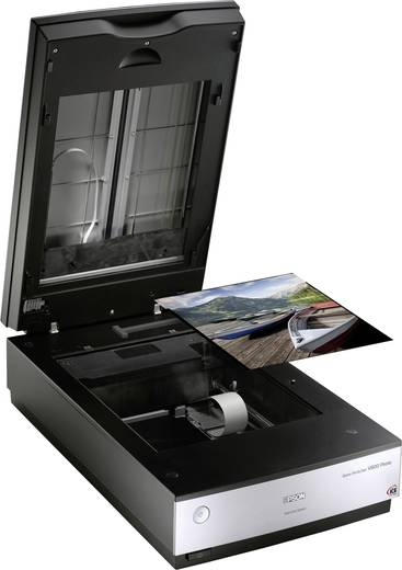 Flachbettscanner A4 Epson Perfection V800 Photo 6400 x 9600 dpi USB Dokumente, Fotos, Dias, Negative