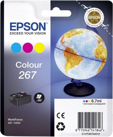 Epson Tinte T2670, 267 Original Cyan, Magenta, Gelb C13T26704010