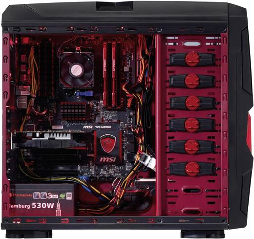 gaming pc captiva amd fx 6300 8 gb 1 tb ohne. Black Bedroom Furniture Sets. Home Design Ideas