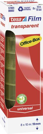 tesafilm tesafilm® Transparent (L x B) 10 m x 19 mm tesa 57404-00002-02 8 Rolle(n)