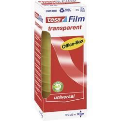 Tesafilm tesa OFFICE-BOX 57402-00002-01, (d x š) 33 m x 12 mm, akrylát, priehľadná, 12 ks