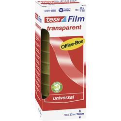 Tesafilm tesa OFFICE-BOX 57371-00002-06, (d x š) 33 m x 15 mm, akrylát, priehľadná, 10 ks