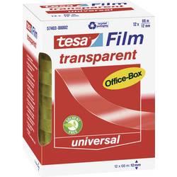 Tesafilm tesa OFFICE-BOX 57403-00002-01, (d x š) 66 m x 12 mm, akrylát, priehľadná, 12 ks
