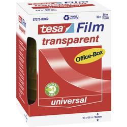 Tesafilm tesa OFFICE-BOX 57372-00002-01, (d x š) 66 m x 15 mm, akrylát, priehľadná, 10 ks
