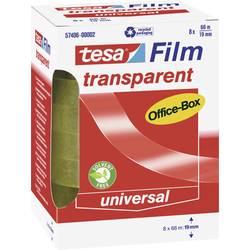 Tesafilm tesa OFFICE-BOX 57406-00002-01, (d x š) 66 m x 19 mm, akrylát, priehľadná, 8 ks