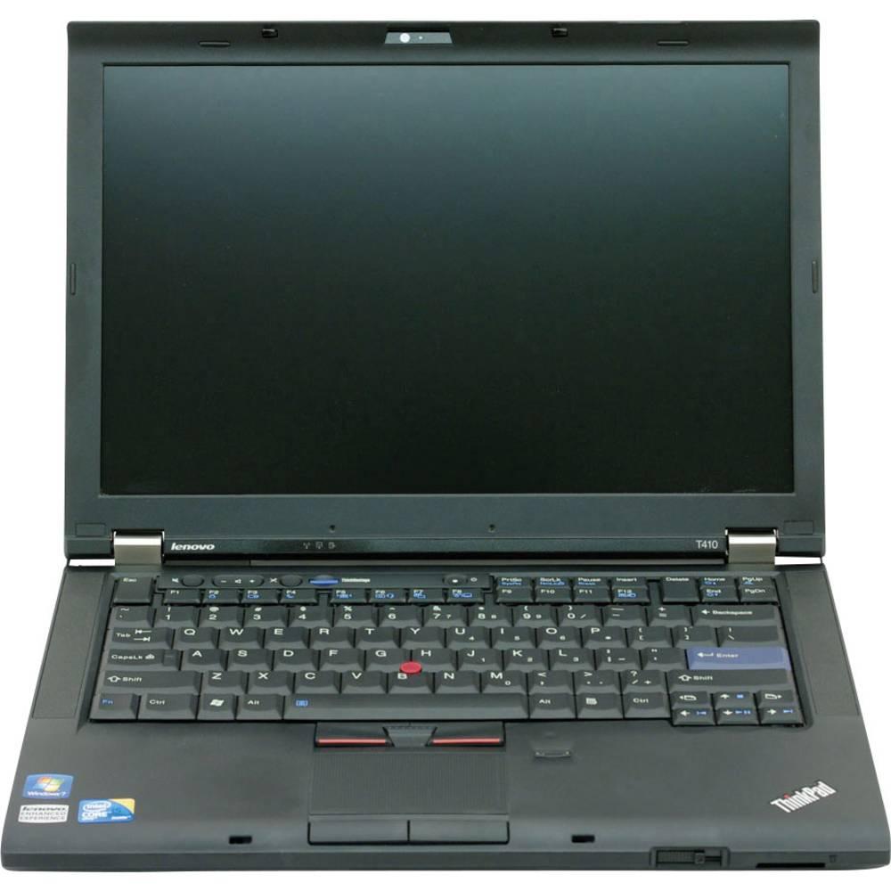 laptop refurbished 35 8 cm 14 1 lenovo thinkpad t410 intel core i5 4 gb 80 gb ssd intel. Black Bedroom Furniture Sets. Home Design Ideas