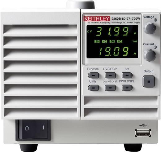 Labornetzgerät, einstellbar Keithley 2260B-80-27 0 - 80 V 0 - 27 A 720 W Anzahl Ausgänge 1 x