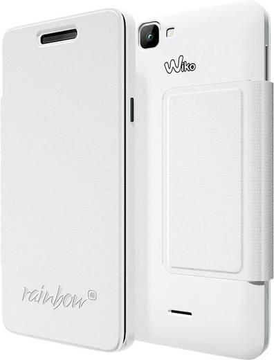 WIKO Flip Cover Flip Cover Passend für: Wiko Rainbow 4G Weiß