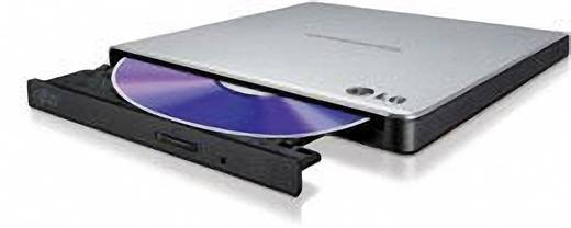DVD-Brenner Extern LG Electronics GP57ES40 Retail USB 2.0 Silber