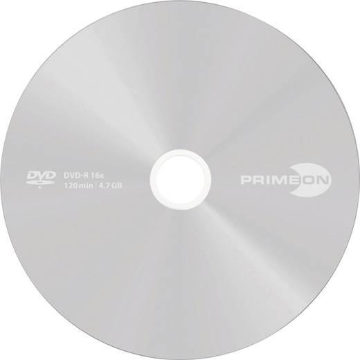 DVD+R Rohling 4.7 GB Primeon 2761224 50 St. Spindel Silber Matte Oberfläche