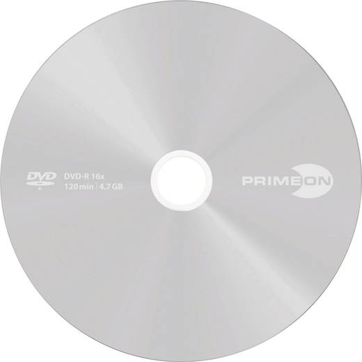 PRIMEON DVD-R 4.7GB 16x Silver Protect Disc 25er Spindel