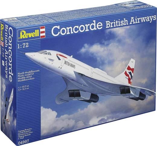 Revell 4997 Concorde British Airways Flugmodell Bausatz 1:72