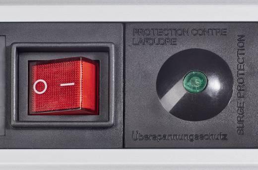 3er Set Überspannungsschutz-Steckdosenleiste 6fach Schwarz Schutzkontakt Renkforce 614A-CMB-SX3