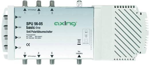 SAT Multischalter Axing SPU 56-05 Eingänge (Multischalter): 5 (4 SAT/1 terrestrisch) Teilnehmer-Anzahl: 6 Quad-LNB-taugl