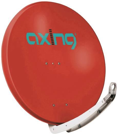 SAT Antenne 85 cm Axing SAA 85-03 Reflektormaterial: Aluminium Ziegel-Rot