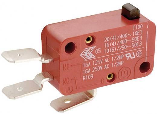 Mikroschalter 250 V/AC 16 A 1 x Ein/(Ein) Marquardt 01005.1010-01 tastend 1 St.