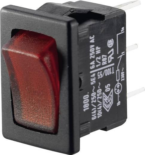 Wippschalter 250 V/AC 6 A 1 x Aus/Ein Marquardt 01800.1104-02 IP40 rastend 1 St.