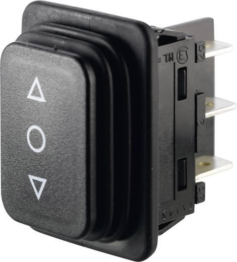Wippschalter 250 V/AC 14 A 2 x (Ein)/Aus/(Ein) Marquardt 01939.3314-01 IP65 (Front) tastend/0/tastend 1 St.