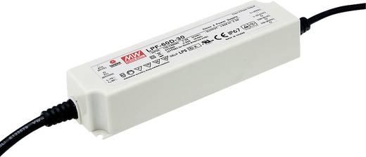 LED-Treiber Konstantstrom Mean Well LPF-60D-42 60 W 1.43 A 25.2 - 42 V/DC PFC-Schaltkreis, Überlastschutz, dimmbar