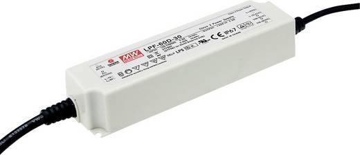 Mean Well LPF-60-48 LED-Treiber, LED-Trafo Konstantspannung, Konstantstrom 60 W 1.25 A 28.8 - 48 V/DC nicht dimmbar, PFC