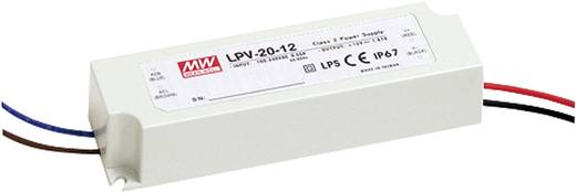 LED-Treiber, LED-Trafo Konstantspannung Mean Well LPV-20-24 20 W (max) 0 A - 840 mA 24 V/DC Überlastschutz