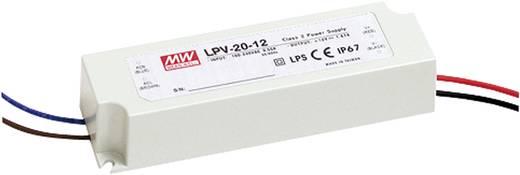 Mean Well LPV-20-24 LED-Trafo Konstantspannung 20 W 0 - 0.84 A 24 V/DC nicht dimmbar, Überlastschutz